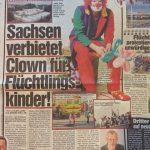 Sachsen verbietet Clown für Flüchtlingskinder