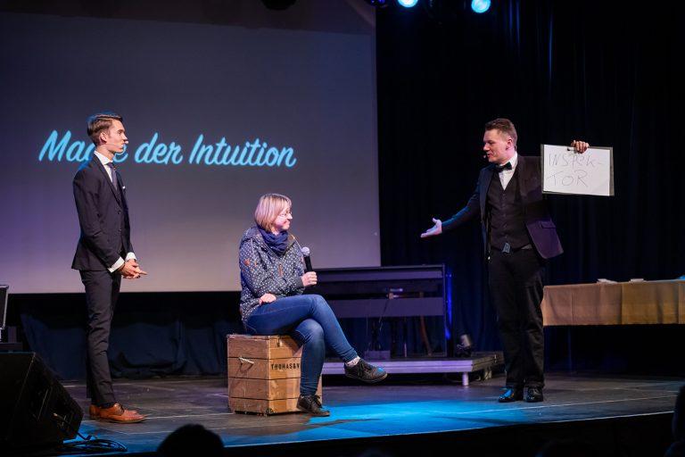 Magie der Intuition in der Landskron Brauerei in Görlitz am 21.10.2018. Aufgenommen von Robert Michalk