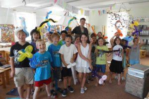 Luftballonfiguren für Kinder